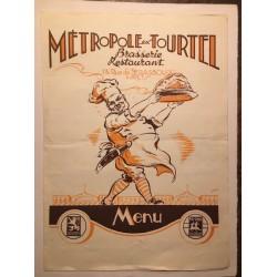 Brasserie Metropole - Paris 1936