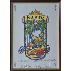 Paul Bocuse Lyon 2002 - Signeret